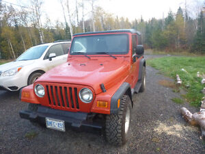 2006 Jeep TJ Sport SUV, Crossover