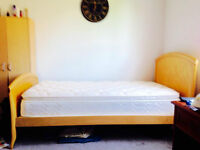2 sets of bed frames and matresses in an excellent condition