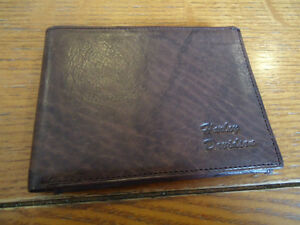 Genuine Italian Leather Harley Davidson Wallet (Dark Brown) West Island Greater Montréal image 1