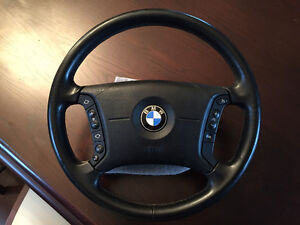 BMW E46  Steering Wheel + Airbag