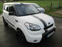 2010 KIA SOUL ECHO CRDI LIMITED EDITION WITH LEATHER HATCHBACK DIESEL