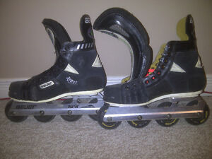 Bauer H-7 Off-ice hockey roller blades, size 7D London Ontario image 1