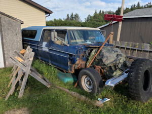 1973 ford crewcab for trade