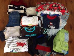 Large Boys 18-24 Months Clothing Lot