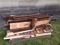 Free wood to collect - broken piano