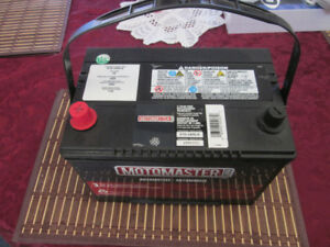 Brand new 12V car battery