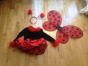 Ladybug Halloween costume for 2 or 3 year old