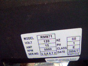 FOR SALE AN ELECTRIC MOTOR HIGH SPEED,+ HIGH TORQUE-55.00