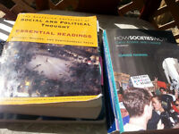 Sociology, Social Work, English, Textbooks for university course