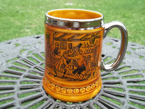 Lord Nelson Pottery vintage Steined Mug made in England coachmen West Island Greater Montréal image 1