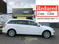 2009 ESTATE VAUXHALL ASTRA 1.7 CDTi DESIGN ( AA ) WARRANTY PACKAGE INCLUDED