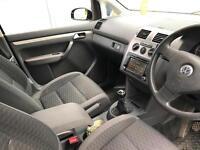 2008 58 reg Volkswagen Touran 1.9 TDI SE Black + 7 SEATS