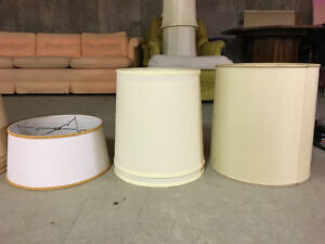 Assorted Lamp Shades