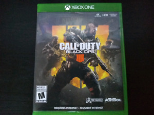 Call of Duty Black Ops 4,  $40 or trade
