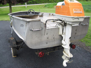 14 FT ALUMINIUM FISHING BOAT FOR SALE