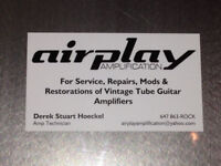 Airplay Amplification Lab - Tube Amp Repair and Restoration