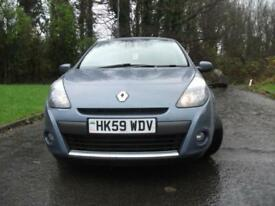 2010 59 RENAULT CLIO 1.5 DYNAMIQUE DCI 5D 86 BHP ** £30 A YEAR ROAD TAX **