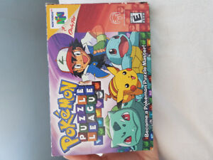 Pokemon puzzle league for n64 for sale