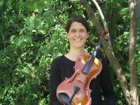 Cours de violon,d'alto et de piano à Laval près du métro Cartier