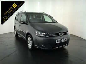 2013 63 VOLKSWAGEN TOURAN SPORT 7 SEATER MPV 1 OWNER VW SERVICE HISTORY FINANCE