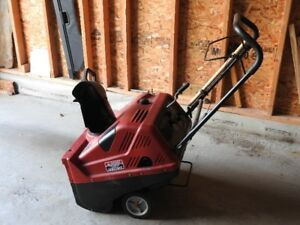 Small Snowblower with Electric Start