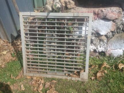 720 x 720 galvanised steel drain grate Winmalee Blue Mountains Preview