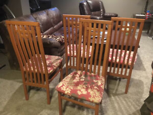 Solid wood dining chairs - Imported from Italy