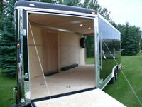 enclosed extra height cargo trailer-vnose-2015-side by side-quad