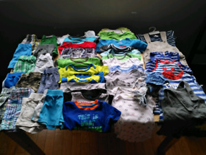 Boys 3-6 to 18 months summer lot