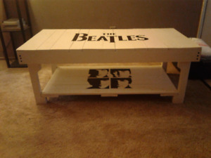 The Beatles coffee table!!!