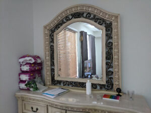 Various furniture - Nightstands, Mirrors, Closets, Bed, Dresser