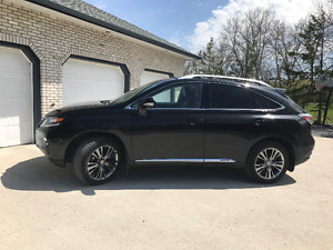 2013 Lexus RX 450H ULTRA PREMIUM PKG with Navigation