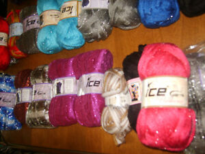 Beautiful Scarf Yarns/ New/Now only $2.00 Each Windsor Region Ontario image 5