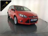 2014 64 FORD FOCUS ZETEC NAVIGATOR TDCI 1 OWNER FORD SERVICE HISTORY FINANCE PX