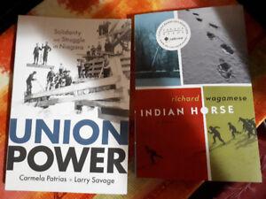 Indian Horse - Wagamese  Union Power - Patrias & Savage ;Brock U