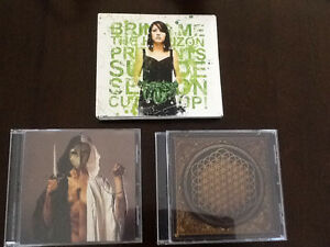 Bring Me The Horizon 3 Cd's AND CD & DVD set