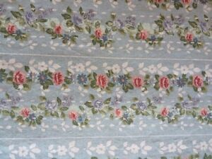 Jessica McClintock Blue Roses Twin Flat And Fitted Sheets Floral London Ontario image 2