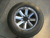 "1 Single 20"" LT275/65R20 Michelin tire w/ chrome rim F250 F350"