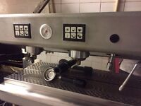 2 group fiorenzato coffee machine