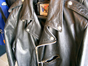 Large mens biker jacket   recycledgear.ca Kawartha Lakes Peterborough Area image 4