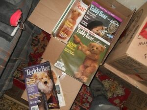Teddy Bear/Country/Nat Geog/Readers Digest books, magazines