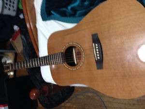 Simon and Patrick acoustic guitar