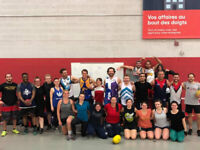 Saturday fitness (5pm)  with the Montreal Aussie Rules crew