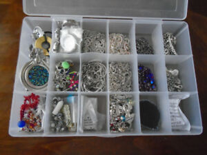 Jewelry making supplies and stamping, embossing.