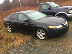 2005 Acura TL Black Sedan