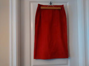 Danier Canada Leather Lined Skirt -  New with Tags