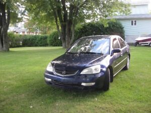 2002 Acura EL full Berline
