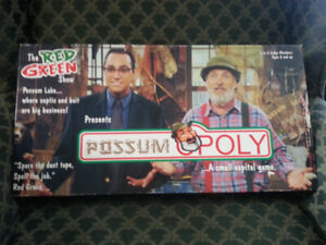 RED  GREEN'S  POSSUM  LODGE  MONOPOLY  GAME