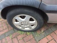 Vauxhall zafira wheels in good condition- stanmore collection