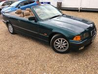 1997 'R' BMW 323i Cabriolet Convertible AUTO. Automatic E36 Original. Px Swap